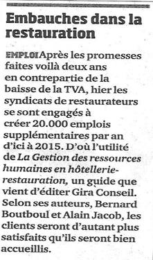 A.J. Conseil, revue de presse